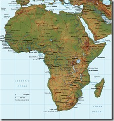 africa-relief-map
